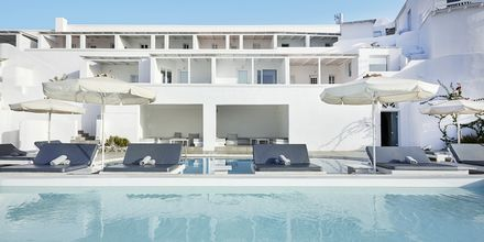 Pool på Notos Therme & Spa, Santorini.