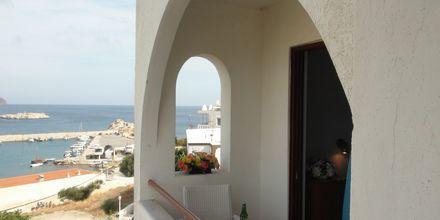 Hotell Oceanis i Karpathos stad, Grekland.