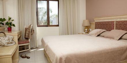 Mindre tvårumslägenheter på Okeanis Golden Resort i Agii Apostoli på Kreta.