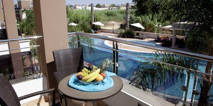 Enrumslägenheter på Okeanis Golden Resort i Agii Apostoli på Kreta.