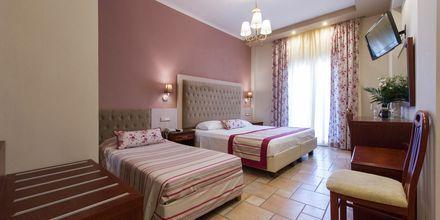 Renoverat dubbelrum på Olympic hotel på Parga, Grekland.