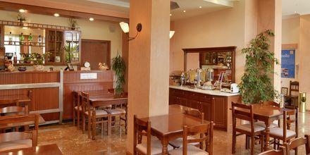 Restaurang på Olympic hotel på Parga, Grekland.