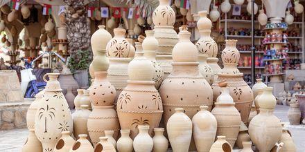 Vacker keramik från Oman.