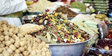 God och hälsosam mat i Oman.
