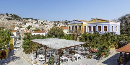 Hotell Opera House på Symi, Grekland.