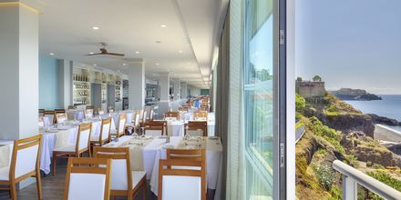 Restaurang på hotell Orca Praia i Funchal på Madeira, Portugal.