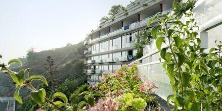 Hotell Orca Praia i Funchal på Madeira, Portugal.