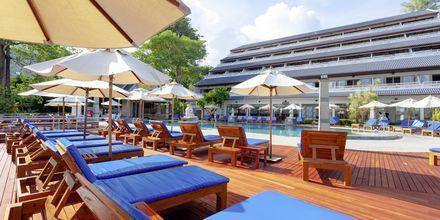 Poolområdet på Orchidacea Resort vid Kata Beach, Phuket, Thailand.