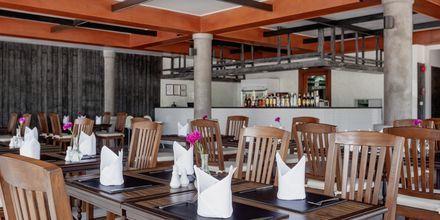 Restaurang på Orchidacea Resort vid Kata Beach, Phuket, Thailand.