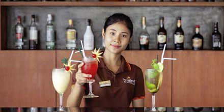 Bar på Orchidacea Resort vid Kata Beach, Phuket, Thailand.