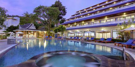 Poolen på Orchidacea Resort vid Kata Beach, Phuket, Thailand.