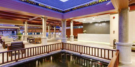 Lobby på Orchidacea Resort vid Kata Beach, Phuket, Thailand.