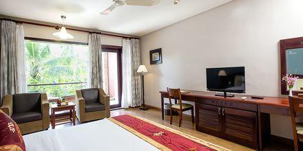 Deluxerum på hotell Oriental Pearl Resort i Phan Thiet, Vietnam.