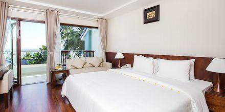 Superiorrum på hotell Oriental Pearl Resort i Phan Thiet, Vietnam.