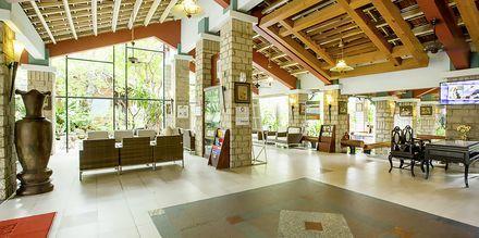 Receptionen på hotell Oriental Pearl Resort i Phan Thiet, Vietnam.