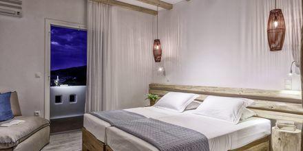 Dubbelrum på hotell Orkos Beach, Naxos.
