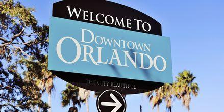 Orlando i Florida, USA.