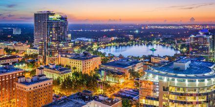 En del av Orlando sett från ovan.