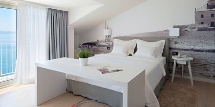 Dubbelrum på Hotell Osejava i Makarska, Kroatien.