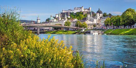 Salzburg är en annan mysig stad i Österrike, känt för sin öl och faktumet att Mozart föddes här.