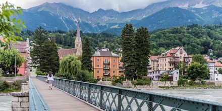 Bron in till Innsbruck, Österrike.