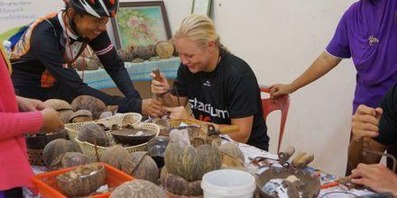 Ekologiskt arbete på Pakasai Resort i Ao Nang, Thailand.