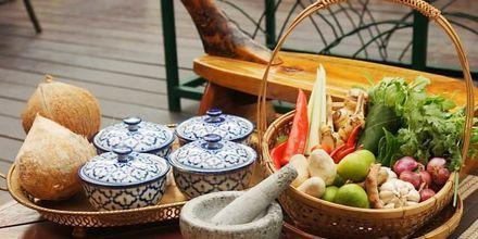 Matlagningskurs på Pakasai Resort i Ao Nang, Thailand.