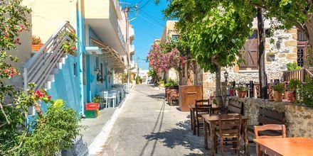 Charmiga Paleochora på Kreta, Grekland.