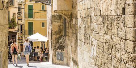 Gränd i Palmas gamla stan.