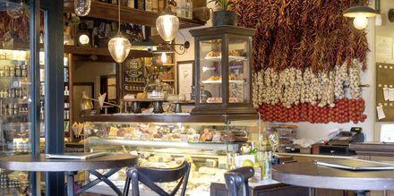Restaurang i Palma, Mallorca, Spanien.
