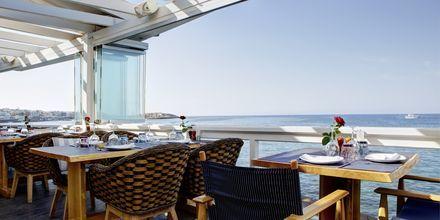 Restaurang  Seaside på hotell Palmera Beach & Spa på Kreta, Grekland.