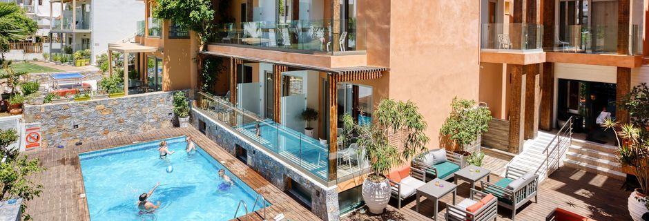 Hotell Palmera Beach & Spa på Kreta, Grekland.