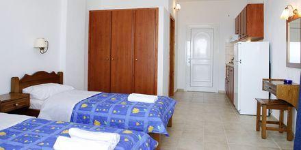 Enrumslägenhet på hotell Palmyra Studios på Skiathos.