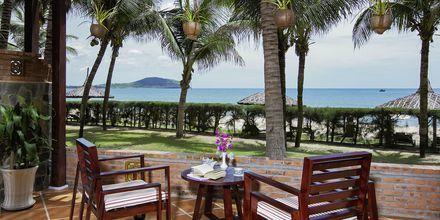 Dubbelrum i bungalow på hotell Pandanus Resort, Phan Thiet.