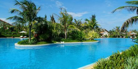 Pool på hotell Pandanus Resort, Phan Thiet.