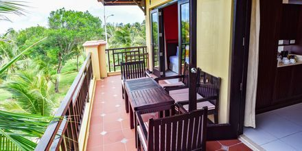 Familjerum på hotell Pandanus Resort i Phan Thiet, Vietnam.
