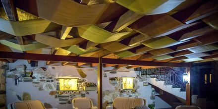 Restaurang på hotell Panorama i Parga, Grekland.