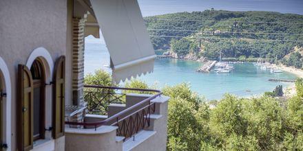 Utsikt från hotell Panorama i Parga, Grekland.
