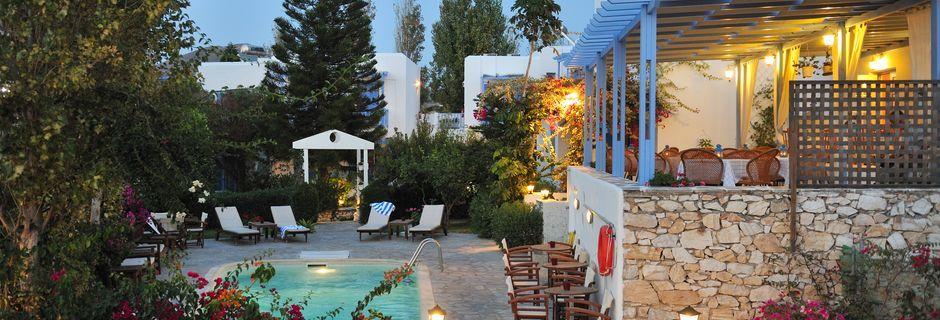 Hotell Panorama i Parikia på Paros.