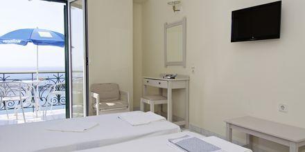 Enrumslägenhet på hotell Panorama på Samos, Grekland.