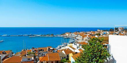 Utsikt från hotell Panorama på Samos.