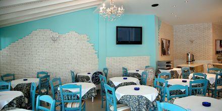 Restaurangen på hotell Panorama i Koukounaries, Skiathos.