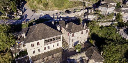 Hotell Papigo Towers i Zagoria, Grekland