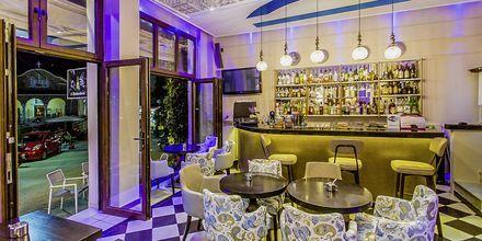 Restaurang på hotell Paradise i Parga, Grekland.