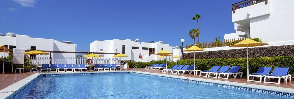 Poolområde på hotell Paraiso del Sol i Playa de las Americas, Teneriffa.