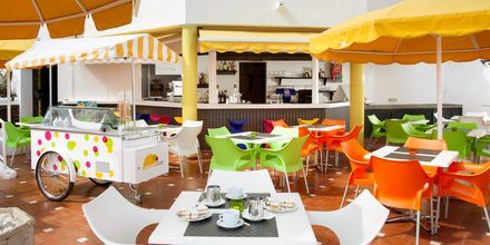 Pool-/snackbar på hotell Paraiso del Sol i Playa de las Americas, Teneriffa.