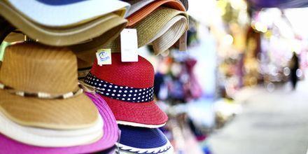 Shopping i Parga.