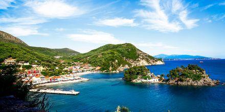 Parga i Grekland.