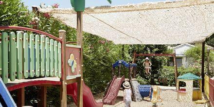 Lekplats på hotell Parga Beach, Grekland.