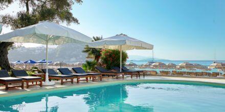 Pool på hotell Parga Beach, Grekland.